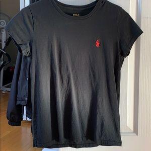 Polo Ralph Lauren Black T-shirt